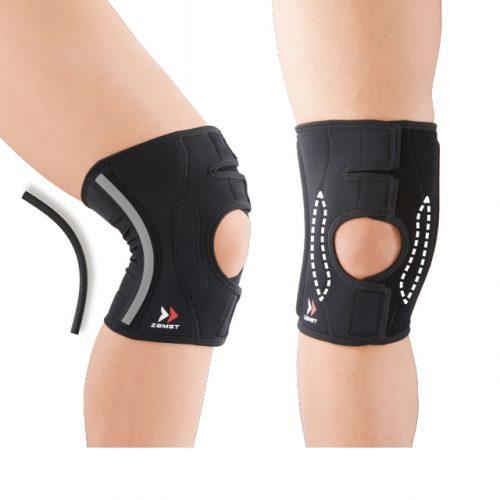 在不妨礙運動的同時,牢固地穩定膝關節