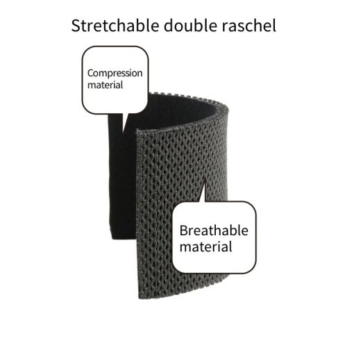佩戴舒適的高彈力網狀透氣材料