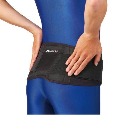 為整個腰部提供輕柔保護