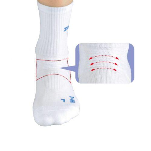 前方波浪設計不妨礙腳自然運動