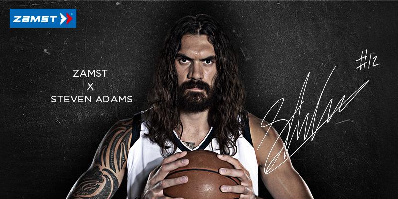與美國職業籃球運動員斯蒂文·亞當斯簽訂贊助合同