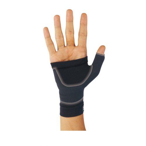 輕壓並保護手腕至手掌