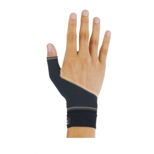 輕壓和保護拇指